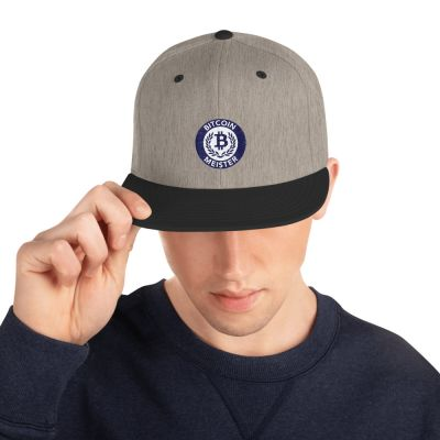 Snapback Hat – Bitcoin Meister