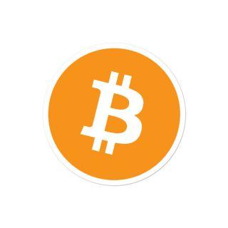 Bubble-free stickers – Bitcoin