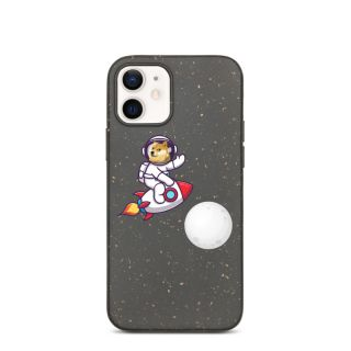 Biodegradable phone case – Dogecoin to the moon