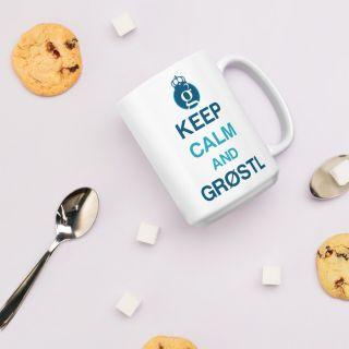 Mug – Groestlcoin – keep calm and Gröstl