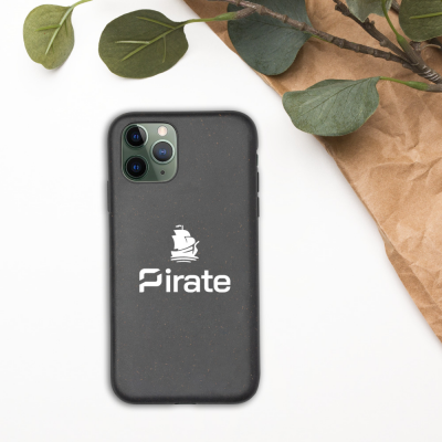 Biodegradable mobile phone cover for Iphone – Pirate