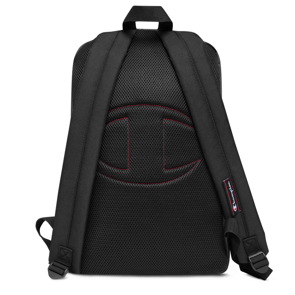 Embroidered Champion Backpack – Note Blockchain