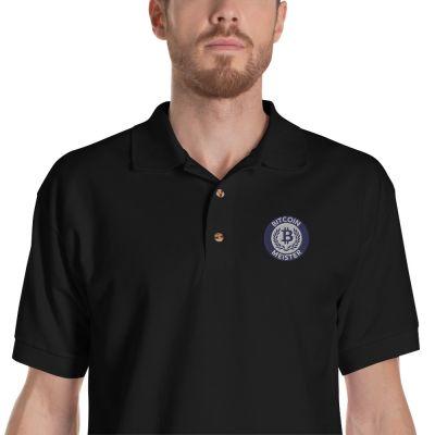 Embroidered Polo Shirt – Bitcoin Meister