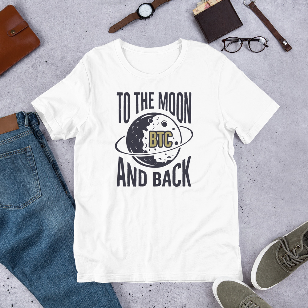 T-Shirt – BTC to the moon and back