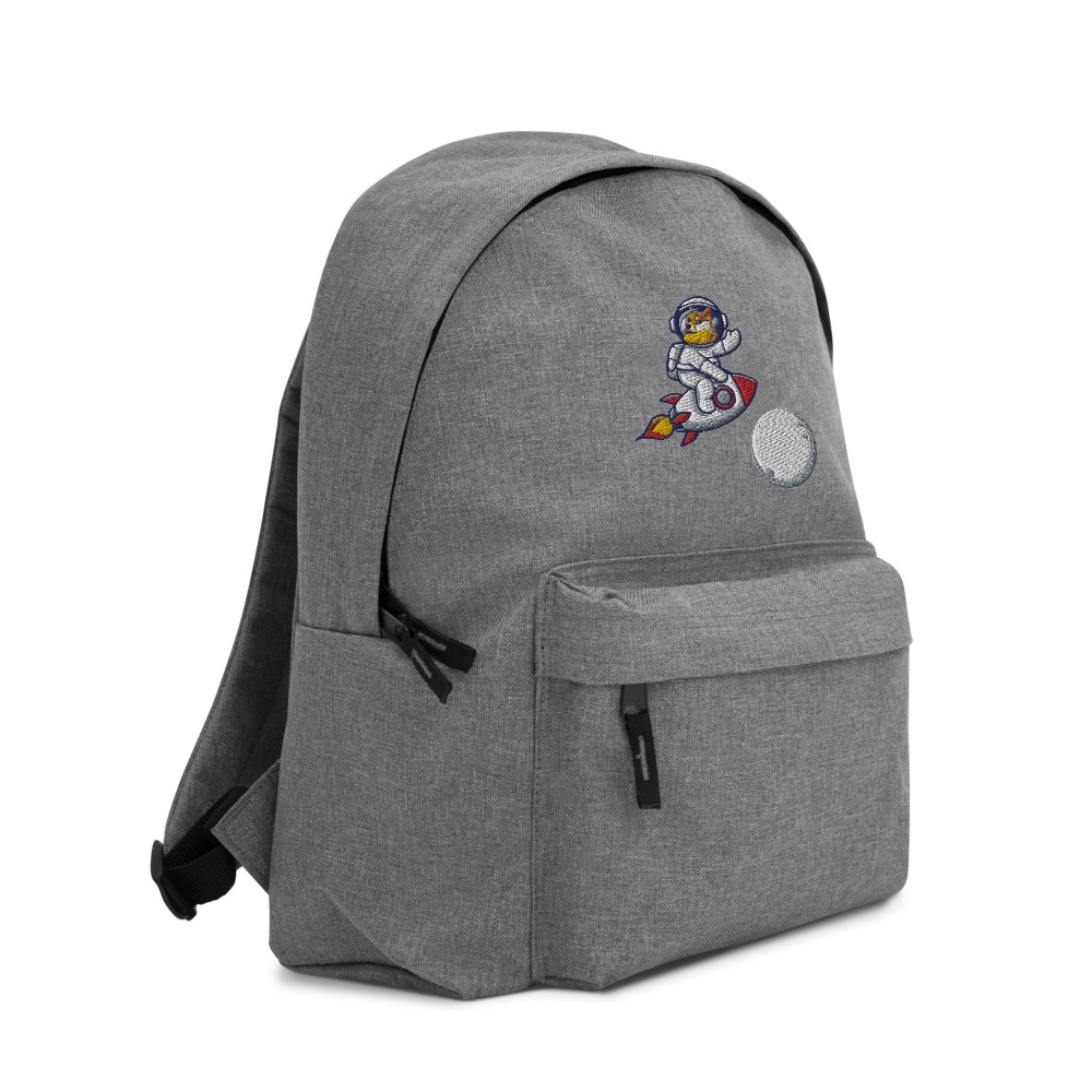 Embroidered Backpack – Dogecoin to the moon