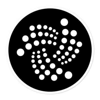 Bubble-free stickers – IOTA