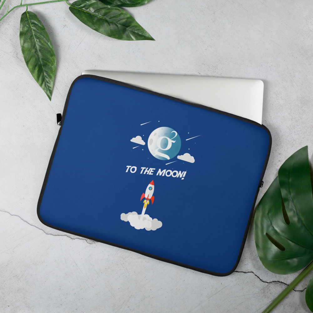 Laptop Sleeve – Groestlcoin –  Groestl to the moon