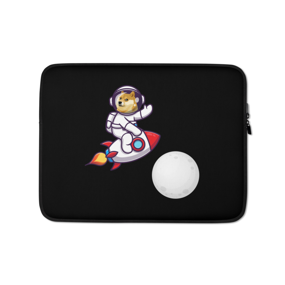 Laptop Sleeve – Dogecoin to the moon