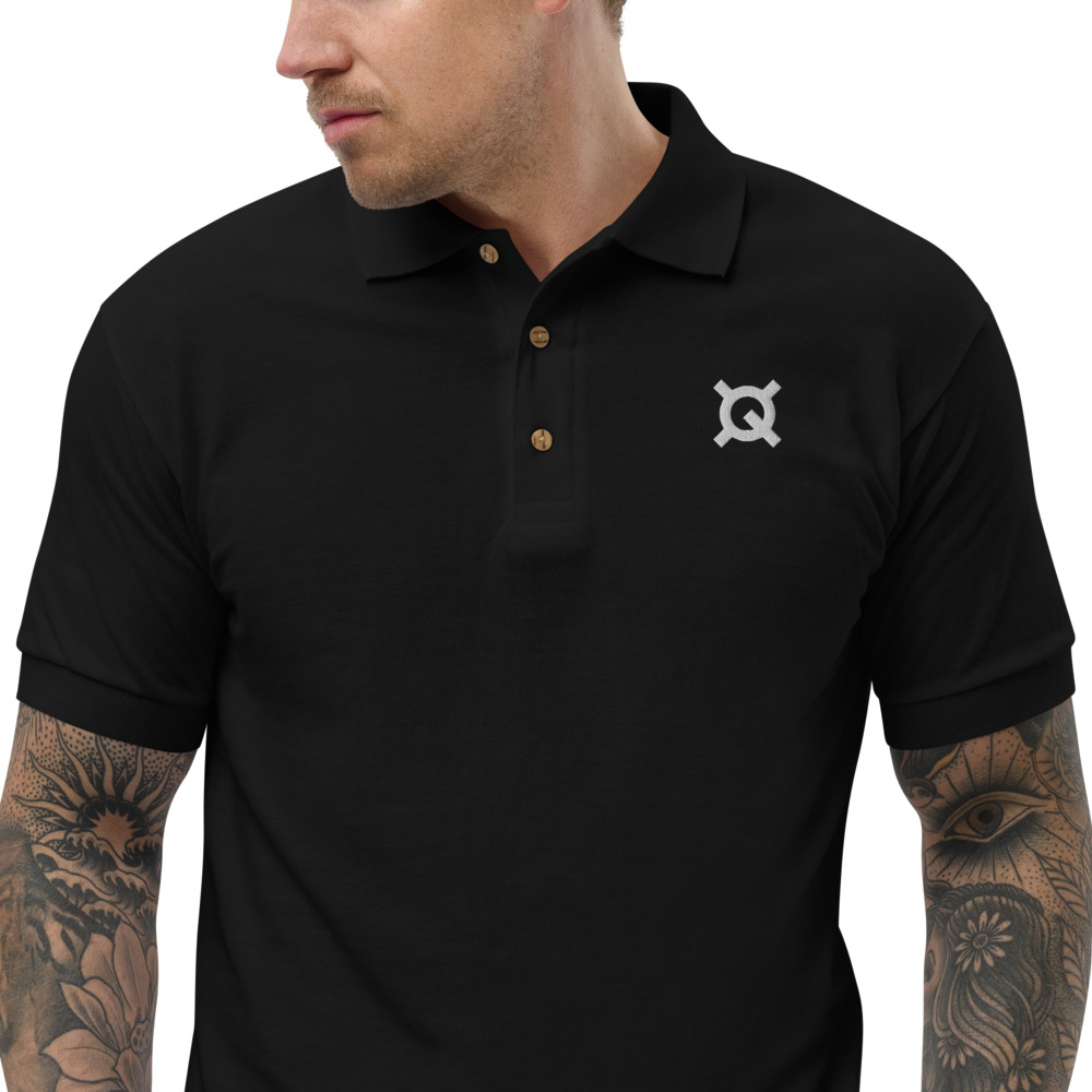 Embroidered Polo Shirt – Quantstamp QSP