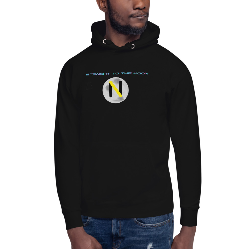 Straight to the Moon OG Note Logo Hoodie
