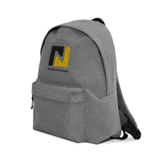 Embroidered Backpack – Note Blockchain