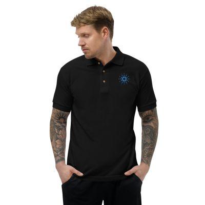 Embroidered Polo Shirt – Cardano ADA