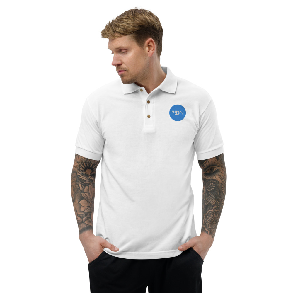 Embroidered Polo Shirt – Digital Note XDN