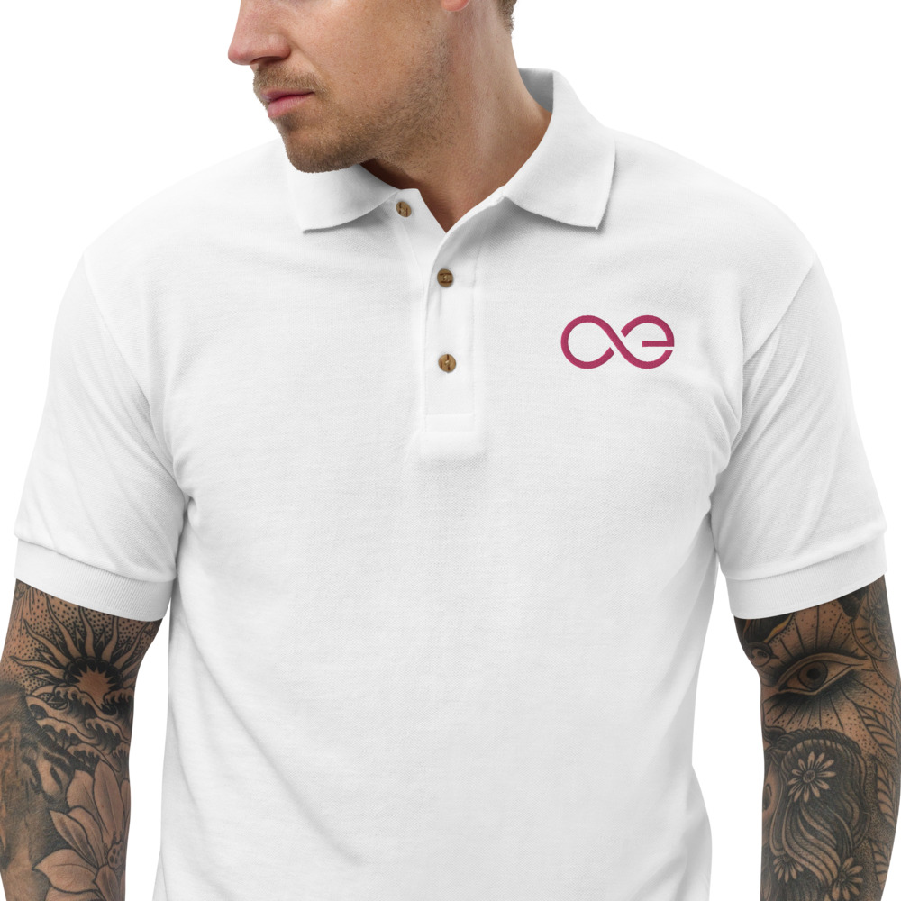 Embroidered Polo Shirt – Aeternity AE