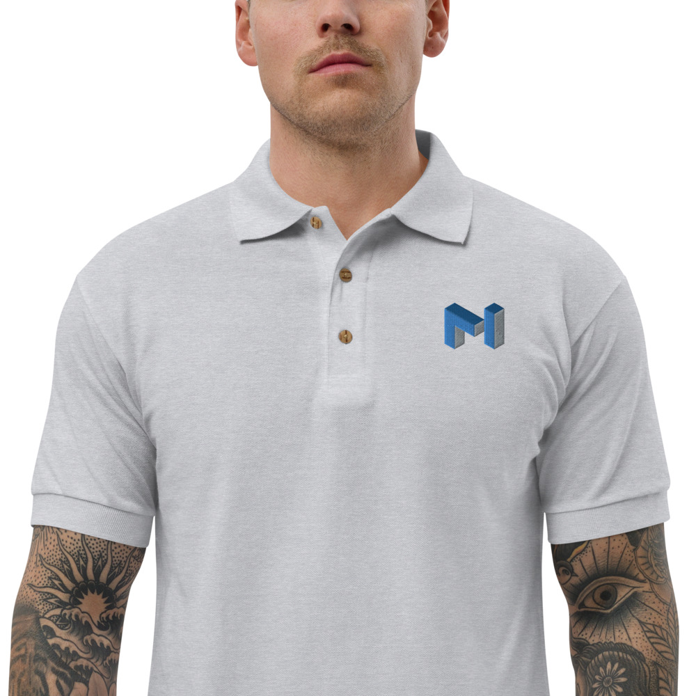 Embroidered Polo Shirt – Matic