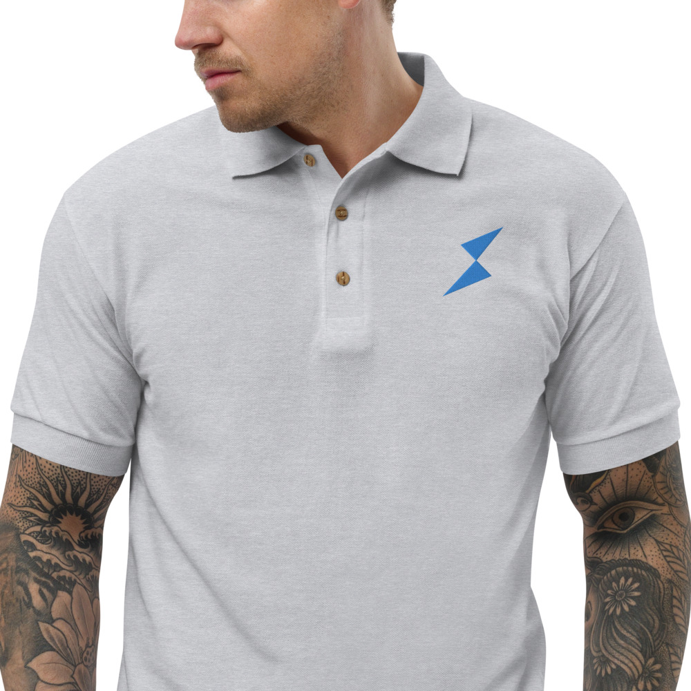 Embroidered Polo Shirt – THORChain RUNE