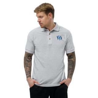 Embroidered Polo Shirt – Steem