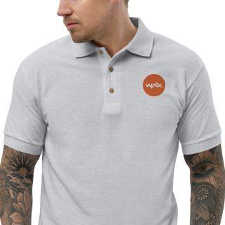 Embroidered Polo Shirt – Wax