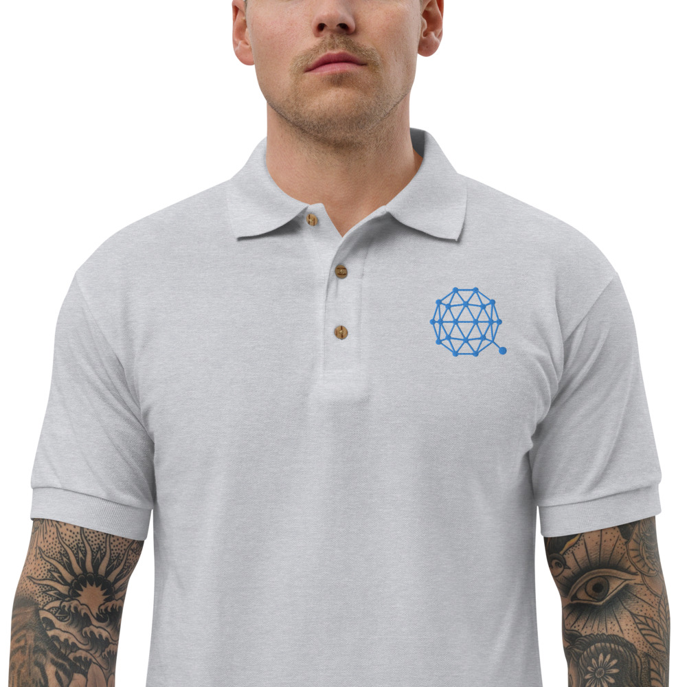 Embroidered Polo Shirt – Qtum